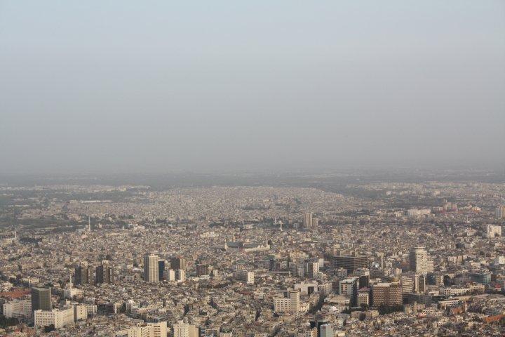 view from Jebel Qassioun