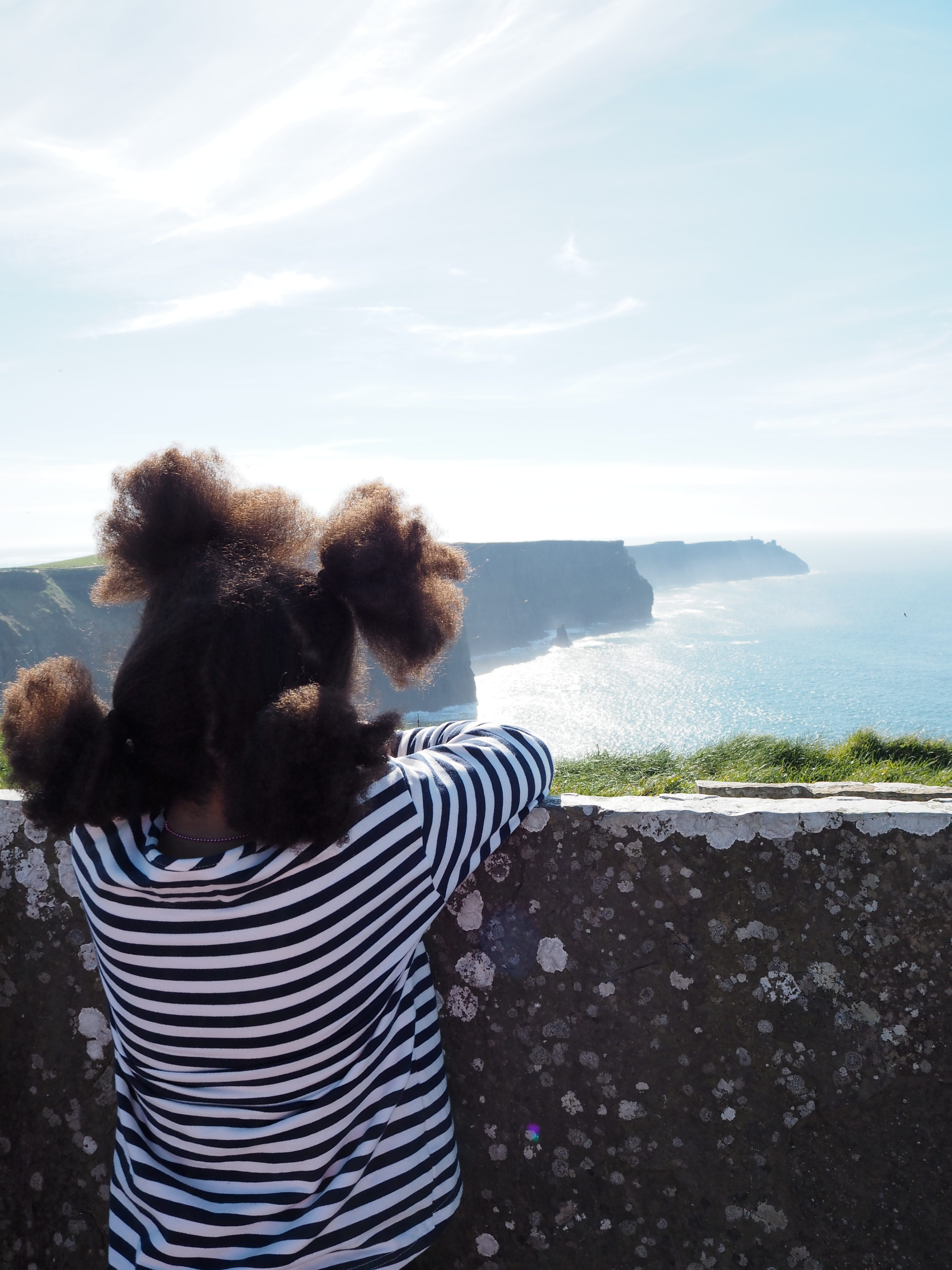 Super day at the Cliffs of Moher
