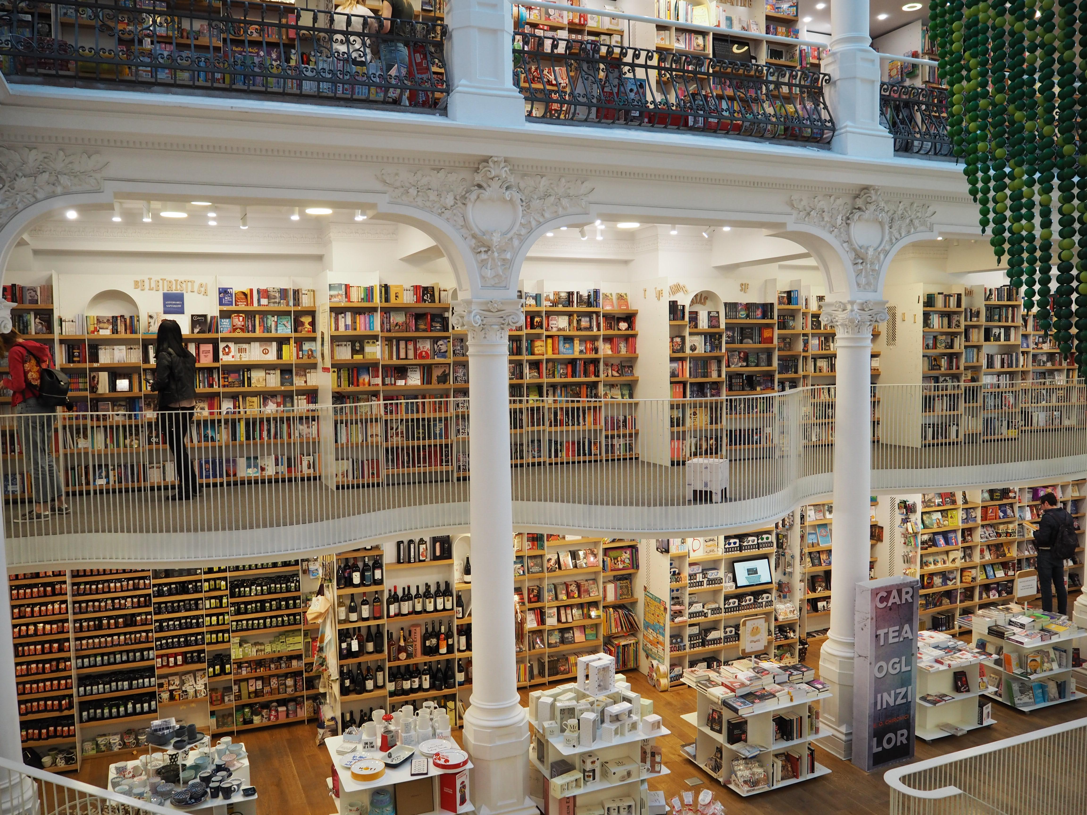 Carturesti Carusel bookshop