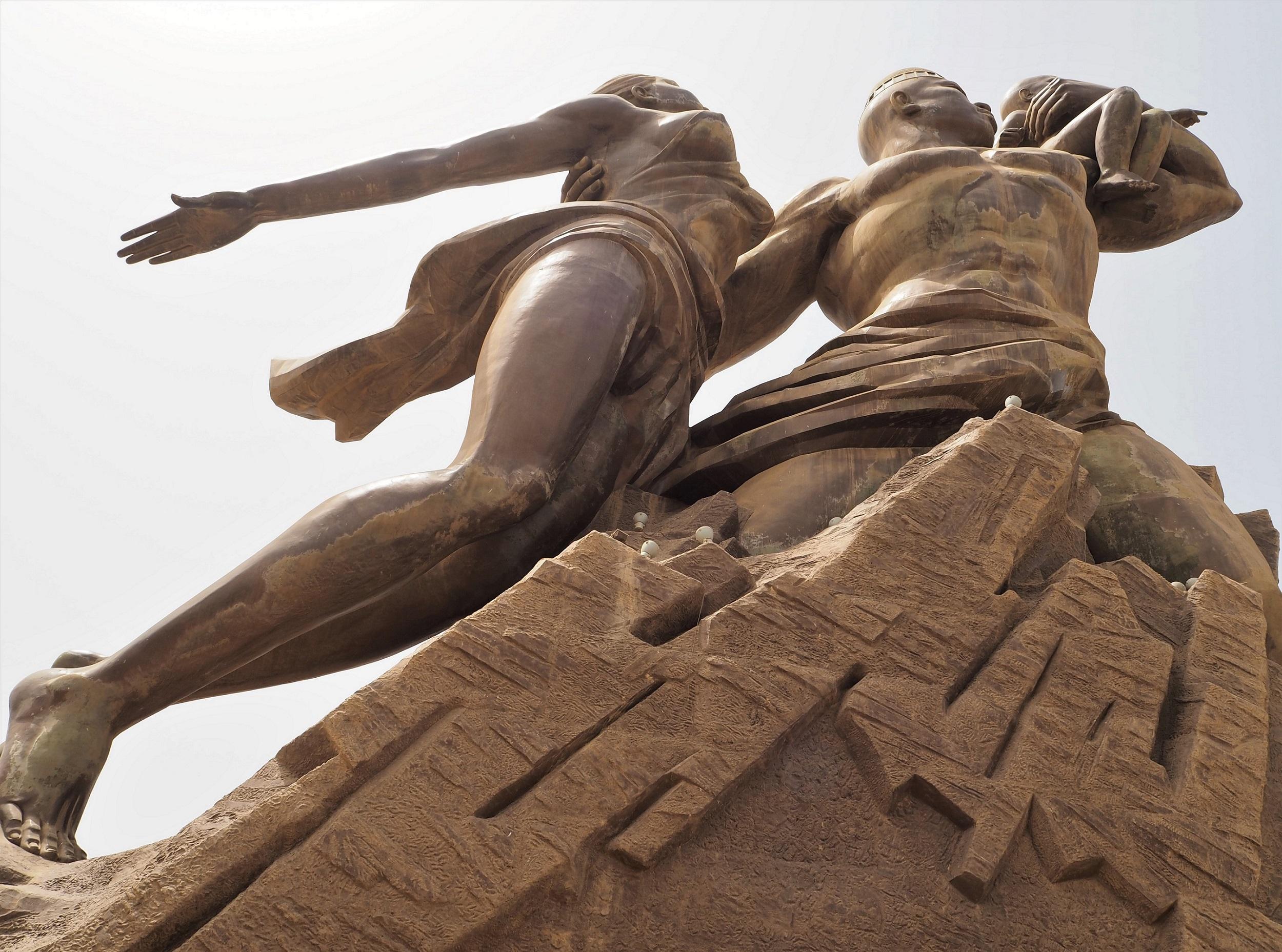 The African Renaissance Monument - Collines des Mamelles, outside Dakar, Senegal